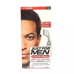Other - JUST FOR MEN AutoStop Foolproof Haircolor, Black